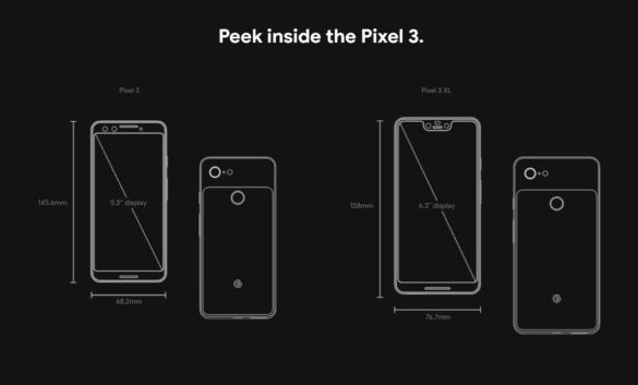 Google Pixel 3 and Pixel 3 XL:
