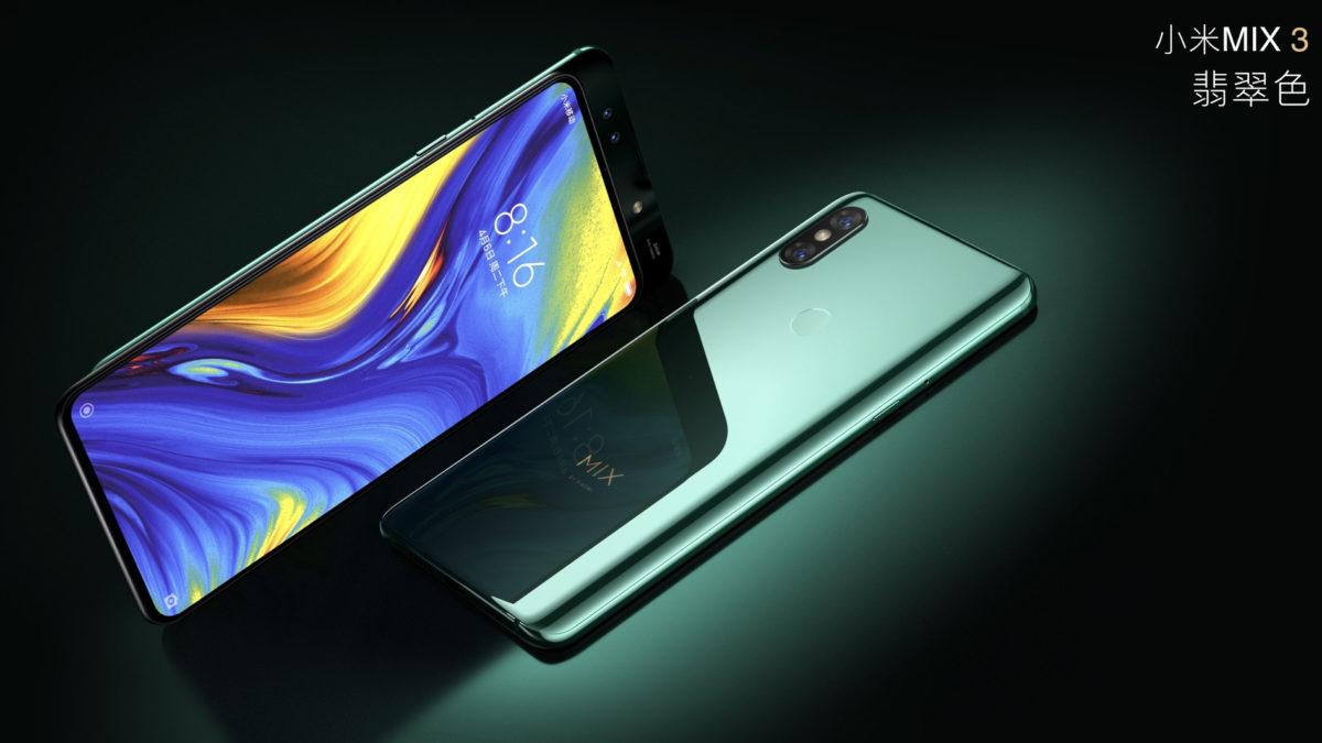 The Xiaomi Mi Mix 3