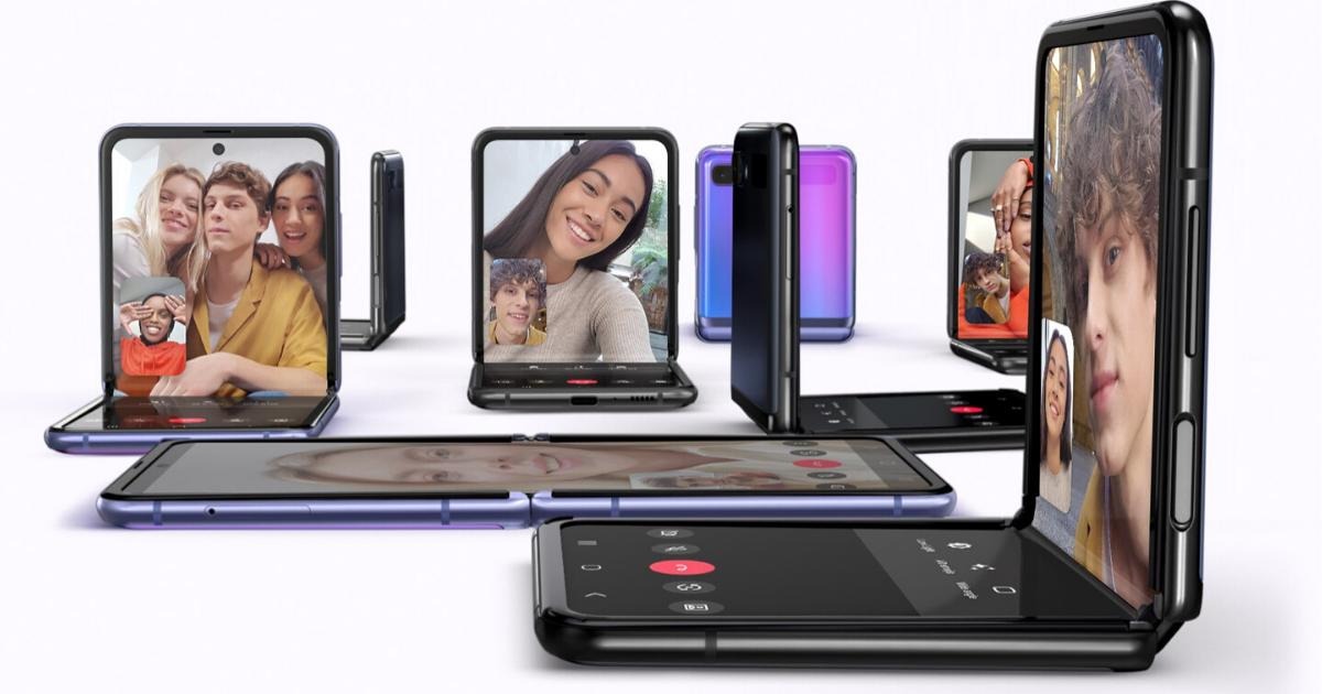 Samsung Galaxy Z Flip Foldable