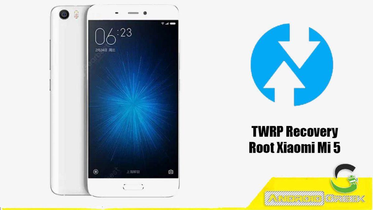 Install TWRP Recovery Xiaomi Mi 5