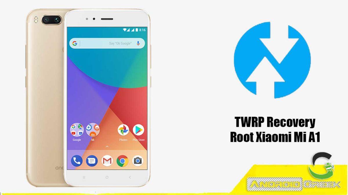 Install TWRP Recovery Xiaomi Mi A1