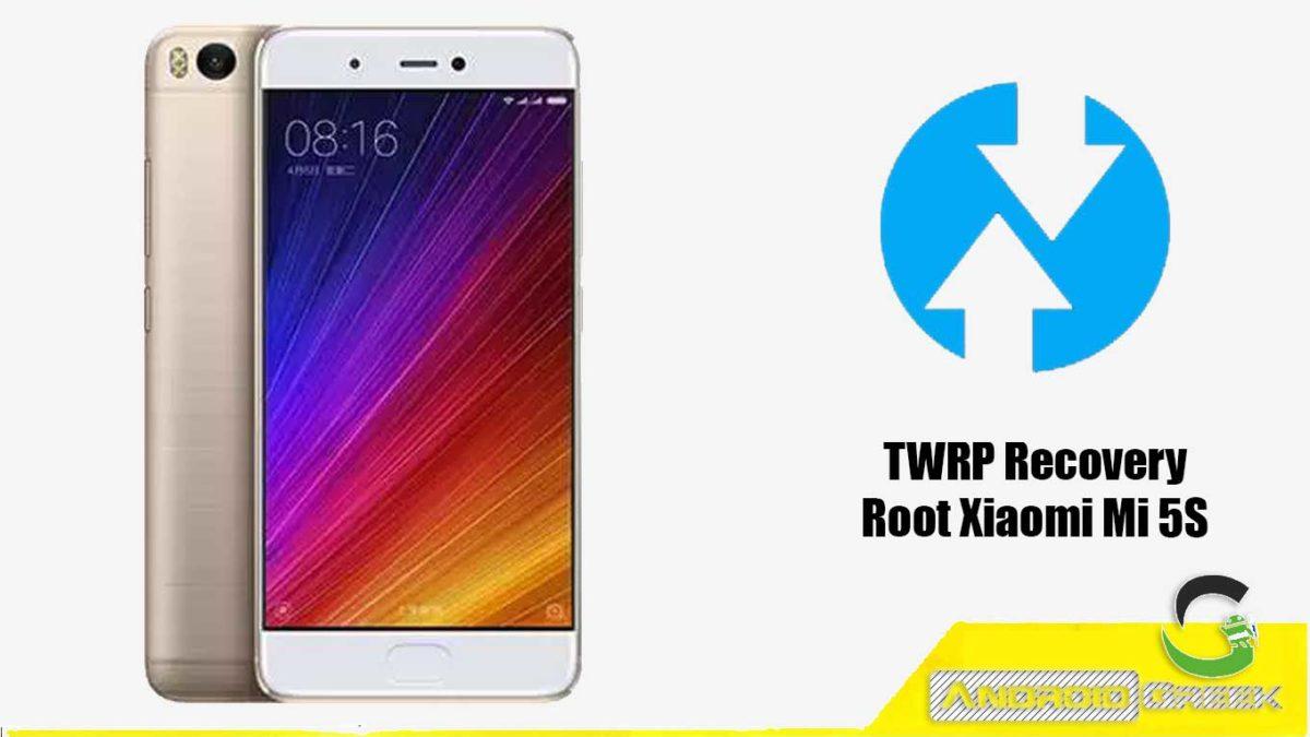 Install TWRP Recovery Xiaomi Mi 5S