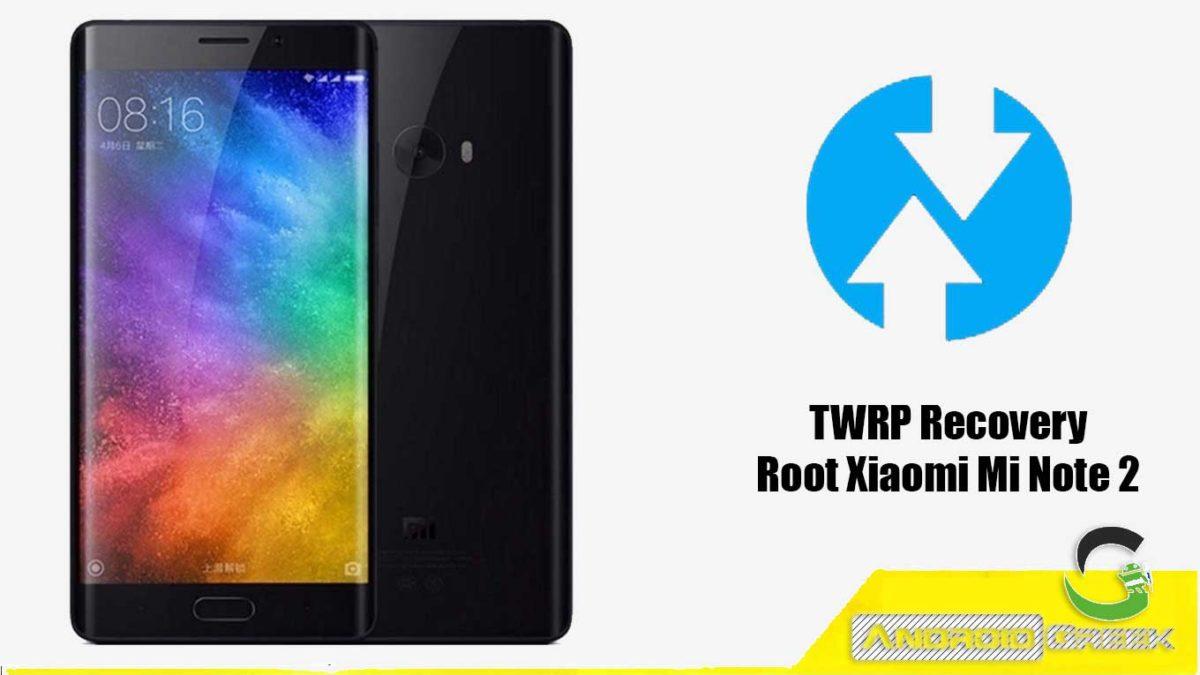 TWRP Recovery Xiaomi Mi Note 2
