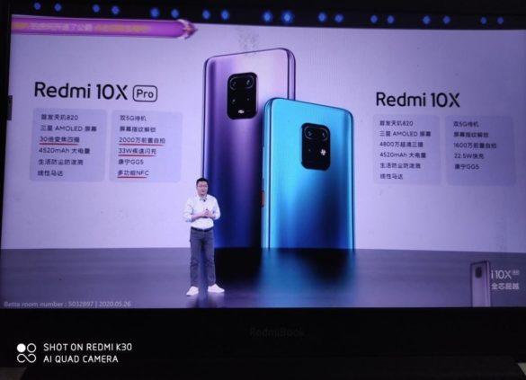 Redmi 10X series