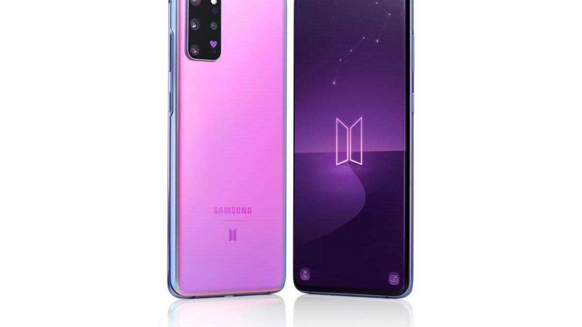 Samsung Galaxy S20+BTS Edition