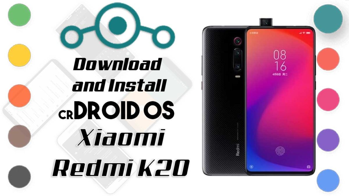 crDroid OS 6 on Xiaomi Redmi K20