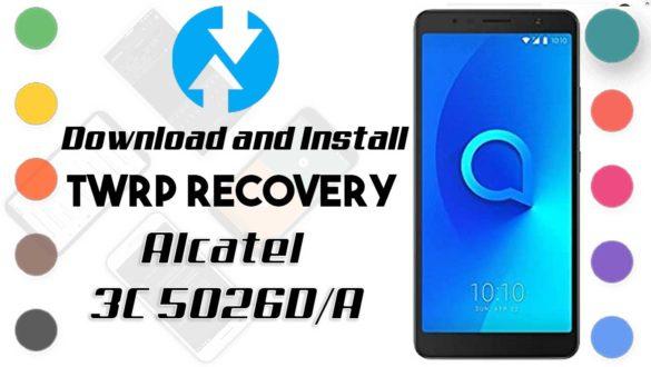 Alcatel 3C 5026D/A