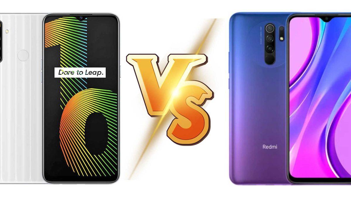 Realme Narzo 10 vs Redmi 9