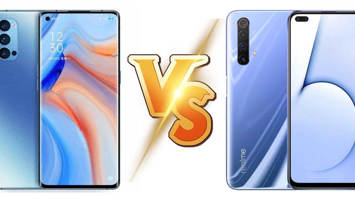 Oppo Reno4 Pro vs Realme X50