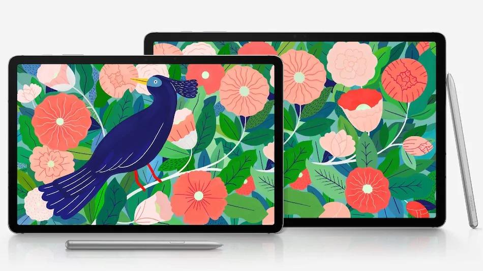 The Samsung Galaxy Tab S7 and Galaxy Tab S7+