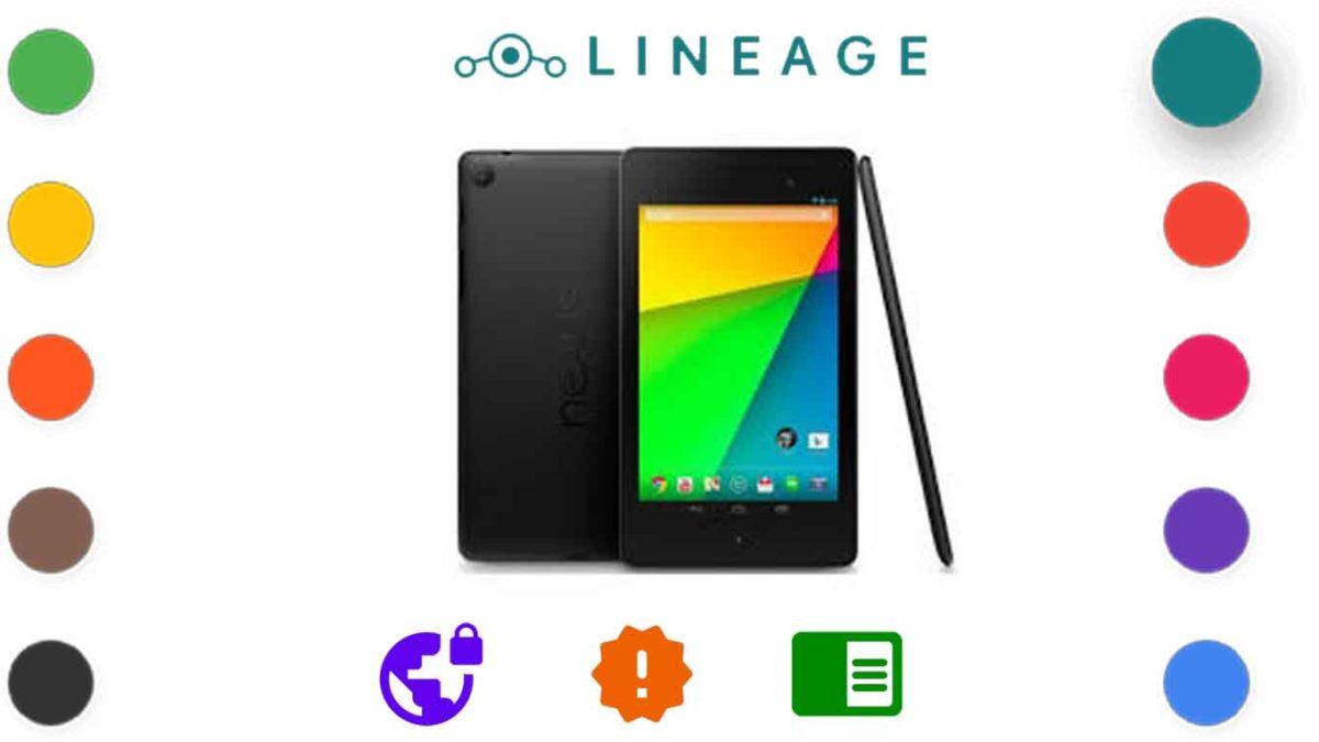 Google Nexus 7 2013 (flo/deb)