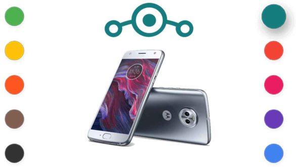 Lineage OS 18.1 for Motorola Moto X4
