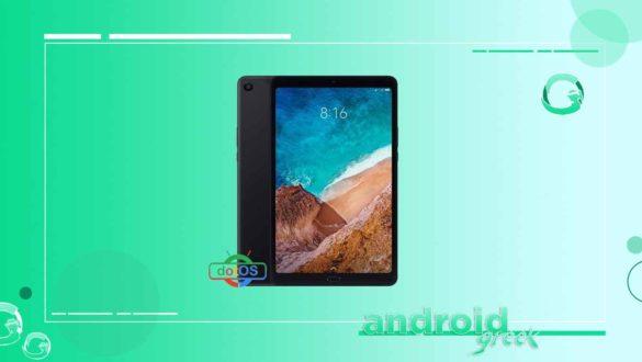 DotOS on Xiaomi Mi Pad 4/Plus